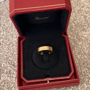 Authentic Cartier ring size 58
